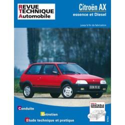 RTA Citroën AX essence et Diesel