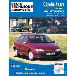 RTA Citroën Xsara phase 1, essence et Diesel