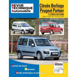 RTA Citroën Berlingo I, Peugeot Partner I, phase 2