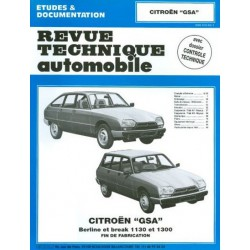 RTA Citroën GSA 1130 et 1300