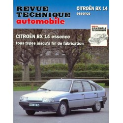 RTA Citroën BX14 essence