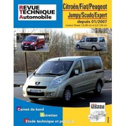 RTA Citroën Jumpy II, Peugeot Expert II, Fiat Scudo II Diesel