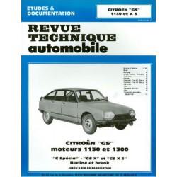 RTA Citroën GS 1130, GSX 3