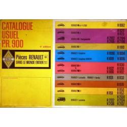 Renault, catalogue de pièces gamme 1970 et avant
