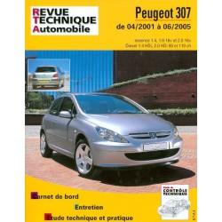 RTA Peugeot 307 phase 1, essence et Diesel