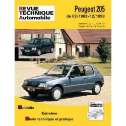RTA Peugeot 205 essence et Diesel