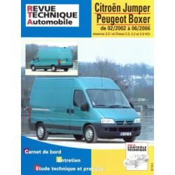 RTA Citroën Jumper I, Peugeot Boxer I, essence et Diesel