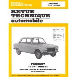 RTA Peugeot 304 Diesel 1976-80