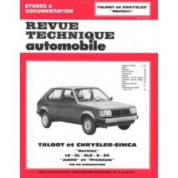 RTA Simca Talbot Horizon 1978-85