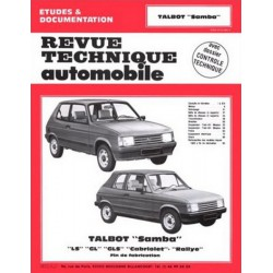RTA Talbot Samba LS, GL, GLS, Cabriolet, Rallye