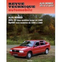 RTA Alfa Romeo Alfa 33 1983-89