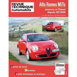 RTA Alfa Romeo MiTo essence et Diesel
