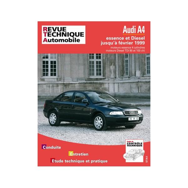 revue technique automobile audi a4 b5 essence et diesel. Black Bedroom Furniture Sets. Home Design Ideas