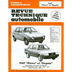RTA Fiat Ritmo et Regata essence 1978-90