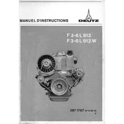 Deutz Mag F3-6L 912 et F3-6L 912W, notice d'entretien