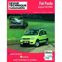 RTA Fiat Panda II, essence et Diesel
