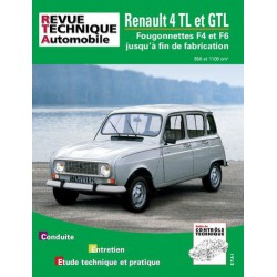 RTA Renault 4 TL, GTL, 4F4, 4F6, Pick-Up de 1978-93