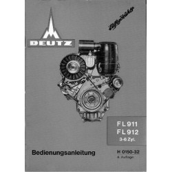 Deutz Mag FL911 et FL912, notice d'entretien