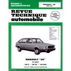RTA Renault 20 L, TL, GTL 1976-82
