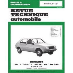 RTA Renault 14, L, TL, GTL 1976-83
