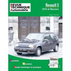 RTA Renault 5 GTX et Baccara