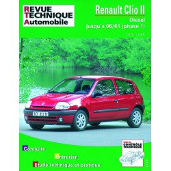 rta renault clio ii phase 1 diesel 1998 01. Black Bedroom Furniture Sets. Home Design Ideas