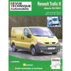 RTA Renault Trafic II phase 1, essence et Diesel
