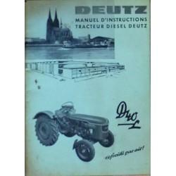 Deutz D40L, D40.2, notice d'entretien