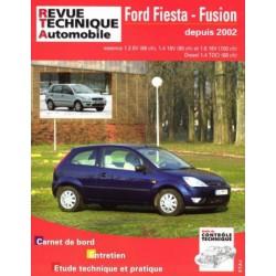 RTA Ford Fiesta V et Fusion, essence et Diesel