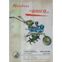 Grifo motohoue, notice d'utilisation et catalogue de pièces