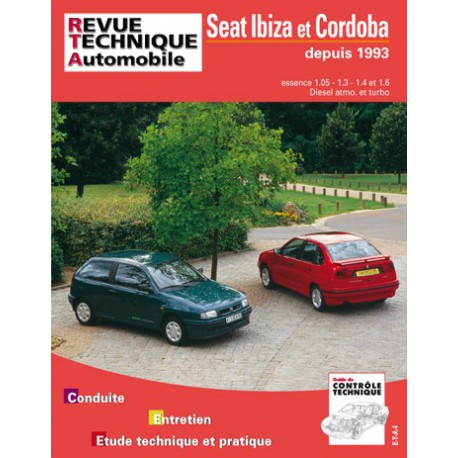rta seat ibiza ii cordoba i 1993 95. Black Bedroom Furniture Sets. Home Design Ideas