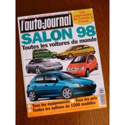 L'Auto Journal, salon 1998