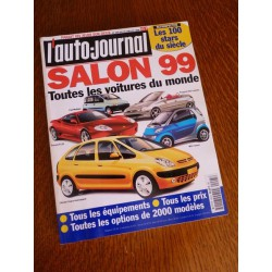 L'Auto Journal, salon 1999