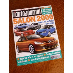 L'Auto Journal, salon 2000