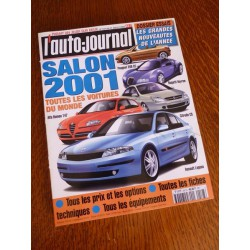 L'Auto Journal, salon 2001