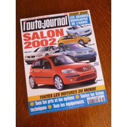 L'Auto Journal, salon 2002