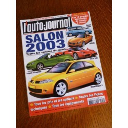 L'Auto Journal, salon 2003