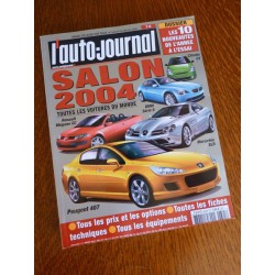 L'Auto Journal, salon 2004