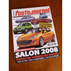 L'Auto Journal, salon 2008