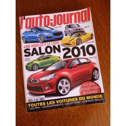 L'Auto Journal, salon 2010