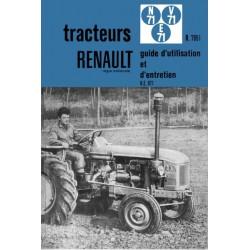 Renault N71, E71, V71, notice d'entretien