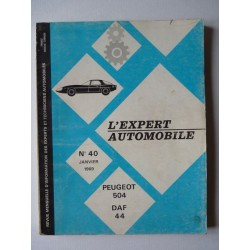 L'EA Peugeot 504 carburateur et injection