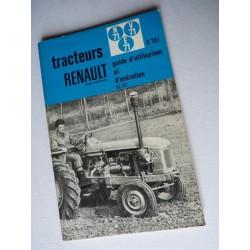 Renault N71, E71, V71, notice d'entretien originale