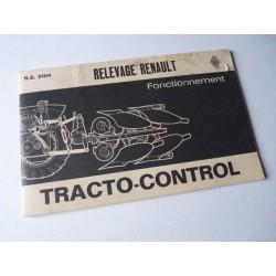 Renault tracto-control gamme Super D, notice originale