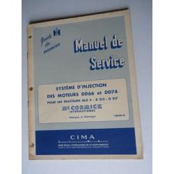 McCormick DLD2, D212, D217, système d'injection, manuel de réparation original