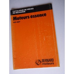 Bernard-Moteurs 617 et 627, catalogue de pièces original