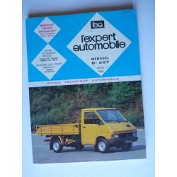 L'EA Renault Trafic I, à propulsion