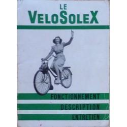 Velosolex modèle 45cc, notice d'entretien