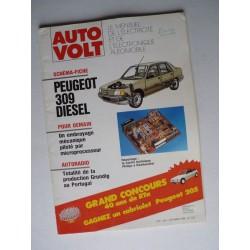 Auto Volt Peugeot 309 phase 1, Diesel