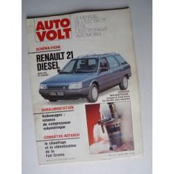 Auto Volt Renault 21 et Névada phase 1, Diesel